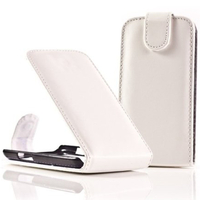 BlackBerry Bold Touch 9900/ Dakota/ Magnum/ Bold Touch 9930/ Montana: Accessoire Etui Housse Coque Pochette simili cuir - BLANC