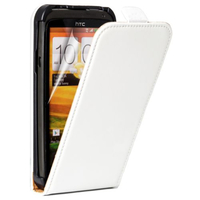 HTC One S/ Special Edition: Accessoire Housse coque etui cuir fine slim - BLANC