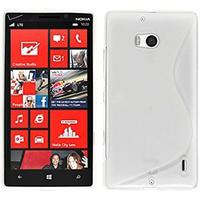 Nokia Lumia 930: Accessoire Housse Etui Pochette Coque S silicone gel - BLANC