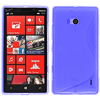 Nokia Lumia 930: Accessoire Housse Etui Pochette Coque S silicone gel - BLEU