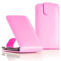 Samsung Wave Y S5380: Accessoire Etui Housse Coque Pochette simili cuir - ROSE-PALE