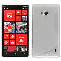 Nokia Lumia 930: Accessoire Housse Etui Pochette Coque S silicone gel - TRANSPARENT