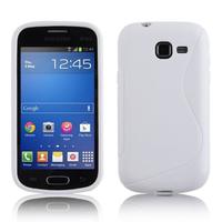 Samsung Galaxy Trend Lite S7390/ Galaxy Fresh Duos S7392: Accessoire Housse Etui Pochette Coque S silicone gel - BLANC