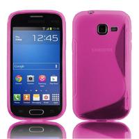 Samsung Galaxy Trend Lite S7390/ Galaxy Fresh Duos S7392: Accessoire Housse Etui Pochette Coque S silicone gel - ROSE