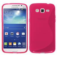 Samsung Galaxy Grand 2 SM-G7100 SM-G7102 SM-G7105 SM-G7106: Accessoire Housse Etui Pochette Coque S silicone gel - ROSE