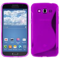 Samsung Galaxy Grand 2 SM-G7100 SM-G7102 SM-G7105 SM-G7106: Accessoire Housse Etui Pochette Coque S silicone gel - VIOLET