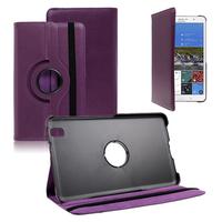 Samsung Galaxy Tab Pro 8.4 SM-T320 T321 T325 3G LTE 4G: Accessoire Etui Housse Coque avec support Et Rotative Rotation 360° en cuir PU - VIOLET