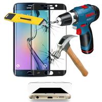 Samsung Galaxy S6 edge SM-G925/ S6 edge (CDMA)/ G925F/ G925T/ G9250/ G925A/ G925FQ/ G925L/ G925P/ G925R/ G925V/ G925W8: Lot/ Pack de 3 Films en Verre Trempé Bord Incurvé Resistant