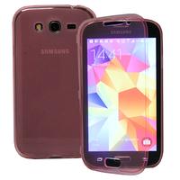Samsung Galaxy Grand Plus/ Grand Neo/ Grand Lite I9060 I9062 I9060I i9080: Accessoire Coque Etui Housse Pochette silicone gel Portefeuille Livre rabat - ROSE