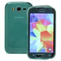 Samsung Galaxy Grand Plus/ Grand Neo/ Grand Lite I9060 I9062 I9060I i9080: Accessoire Coque Etui Housse Pochette silicone gel Portefeuille Livre rabat - VERT