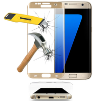 Samsung Galaxy S7 edge G935F/ G935FD/ S7 edge (CDMA) G935: 1 Film en Verre Trempé Bord Incurvé Resistant