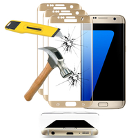 Samsung Galaxy S7 edge G935F/ G935FD/ S7 edge (CDMA) G935: Lot/ Pack de 3 Films en Verre Trempé Bord Incurvé Resistant
