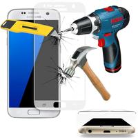 Samsung Galaxy S7 G930F/ G930FD/ S7 (CDMA) G930: 1 Film en Verre Trempé Bord Incurvé Resistant