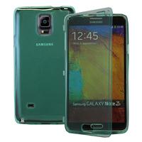 Samsung Galaxy Note 4 SM-N910F/ Note 4 Duos (Dual SIM) N9100/ Note 4 (CDMA)/ N910C N910W8 N910V N910A N910T N910M: Accessoire Coque Etui Housse Pochette silicone gel Portefeuille Livre rabat - VERT