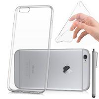 Apple iPhone 6/ 6s: Accessoire Housse Etui Coque gel UltraSlim et Ajustement parfait + Stylet - TRANSPARENT