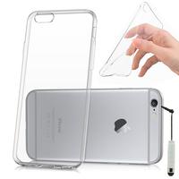 Apple iPhone 6/ 6s: Accessoire Housse Etui Coque gel UltraSlim et Ajustement parfait + mini Stylet - TRANSPARENT