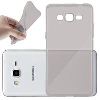 Samsung Galaxy Grand Prime SM-G530F/ (4G) SM-G531F/ Duos TV SM-G530BT/ G530FZ G530Y G530H G530FZ/DS: Accessoire Housse Etui Coque gel UltraSlim et Ajustement parfait - GRIS