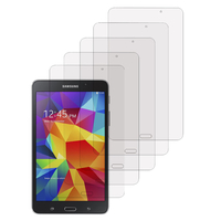 Samsung Galaxy Tab A 7.0 (2016) T280 T285: Lot / Pack de 5x Films de protection d'écran clear transparent