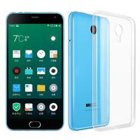 Meizu M2 Note/ Blue Charm Note2: Accessoire Housse Etui Coque gel UltraSlim et Ajustement parfait - TRANSPARENT