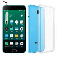 Meizu M2 Note/ Blue Charm Note2: Accessoire Housse Etui Coque gel UltraSlim et Ajustement parfait + mini Stylet - TRANSPARENT