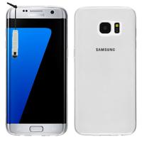 Samsung Galaxy S7 edge G935F/ G935FD/ S7 edge (CDMA) G935: Accessoire Housse Etui Coque gel UltraSlim et Ajustement parfait + mini Stylet - TRANSPARENT