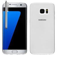 Samsung Galaxy S7 edge G935F/ G935FD/ S7 edge (CDMA) G935: Accessoire Housse Etui Coque gel UltraSlim et Ajustement parfait + Stylet - TRANSPARENT