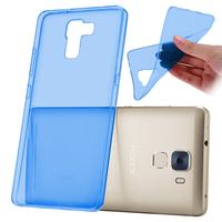Huawei Honor 7/ 7 Enhanced Edition/ Dual SIM (non compatible Honor 7i): Accessoire Housse Etui Coque gel UltraSlim et Ajustement parfait - BLEU