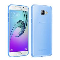 Samsung Galaxy A5 (2016) SM-A510F A510M A510FD A5100 A510Y (non compatible Galaxy A5 (2015)): Accessoire Housse Etui Coque gel UltraSlim et Ajustement parfait - BLEU