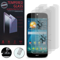 Acer Liquid Jade S S56: Lot / Pack de 3 Films de protection d'écran Verre Trempé