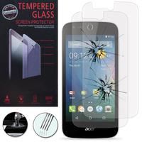 Acer Liquid Z320/ Z330: Lot / Pack de 2 Films de protection d'écran Verre Trempé