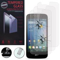 Acer Liquid Z320/ Z330: Lot / Pack de 3 Films de protection d'écran Verre Trempé
