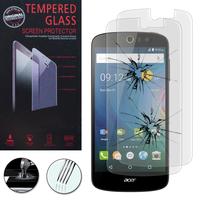 Acer Liquid Z530/ Z530S: Lot / Pack de 2 Films de protection d'écran Verre Trempé