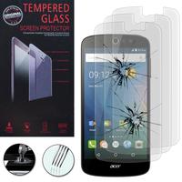 Acer Liquid Z530/ Z530S: Lot / Pack de 3 Films de protection d'écran Verre Trempé