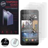 HTC Desire 516 dual sim: Lot / Pack de 3 Films de protection d'écran Verre Trempé