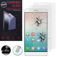 Huawei Honor 7i/ Shot X (non compatible Honor 7): Lot / Pack de 2 Films de protection d'écran Verre Trempé
