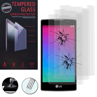 LG Spirit 4G LTE H440N/ Spirit H420: Lot / Pack de 3 Films de protection d'écran Verre Trempé