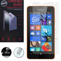 Microsoft Nokia Lumia 430 Dual SIM: 1 Film de protection d'écran Verre Trempé