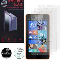 Microsoft Nokia Lumia 430 Dual SIM: Lot / Pack de 3 Films de protection d'écran Verre Trempé