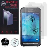 Samsung Galaxy Xcover 3 SM-G388F: Lot / Pack de 2 Films de protection d'écran Verre Trempé