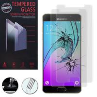 Samsung Galaxy A5 (2016) SM-A510F A510M A510FD A5100 A510Y (non compatible Galaxy A5 (2015)): Lot / Pack de 2 Films de protection d'écran Verre Trempé