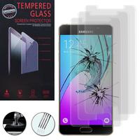 Samsung Galaxy A5 (2016) SM-A510F A510M A510FD A5100 A510Y (non compatible Galaxy A5 (2015)): Lot / Pack de 3 Films de protection d'écran Verre Trempé