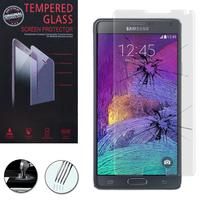 Samsung Galaxy Note 4 SM-N910F/ Note 4 Duos (Dual SIM) N9100/ Note 4 (CDMA)/ N910C N910W8 N910V N910A N910T N910M: 1 Film de protection d'écran Verre Trempé