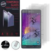Samsung Galaxy Note 4 SM-N910F/ Note 4 Duos (Dual SIM) N9100/ Note 4 (CDMA)/ N910C N910W8 N910V N910A N910T N910M: Lot / Pack de 3 Films de protection d'écran Verre Trempé