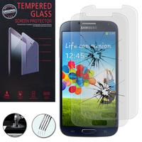 Samsung Galaxy S4 i9500/ i9505/ Value Edition I9515: Lot / Pack de 2 Films de protection d'écran Verre Trempé