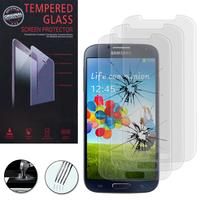 Samsung Galaxy S4 i9500/ i9505/ Value Edition I9515: Lot / Pack de 3 Films de protection d'écran Verre Trempé