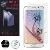 Samsung Galaxy S6 SM-G920/ S6 Duos/ S6 (CDMA)/ G920F G9200 G9208/SS G920A G920T G920S G920V G920W8: 1 Film de protection d'écran Verre Trempé