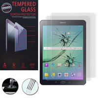 Samsung Galaxy Tab S2 9.7 SM-T810 SM-T815: Lot / Pack de 2 Films de protection d'écran Verre Trempé
