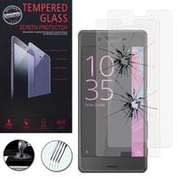 Sony Xperia X/ Xperia X Dual F5122: Lot / Pack de 2 Films de protection d'écran Verre Trempé