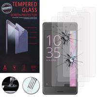Sony Xperia X/ Xperia X Dual F5122: Lot / Pack de 3 Films de protection d'écran Verre Trempé