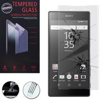 Sony Xperia Z5 E6603 E6653/ Z5 Dual E6633 E6683: 1 Film de protection d'écran Verre Trempé